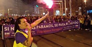 Zaragoza 8M 2019 feministas