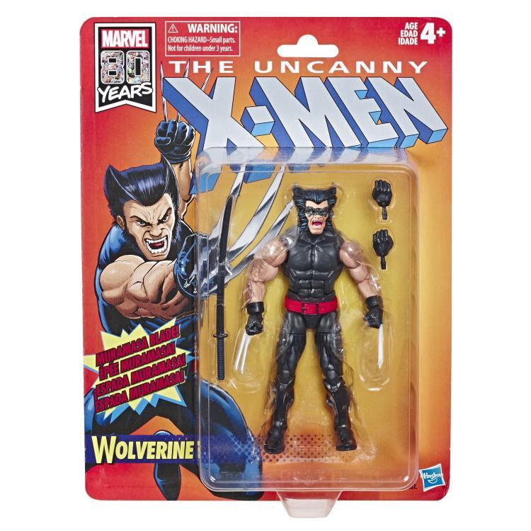 Image of X-Men Retro Marvel Legends 6-Inch Action Figures - Wolverine