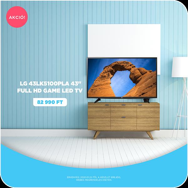 "LG 43LK5100PLA 43"" Full HD Game LED TV"