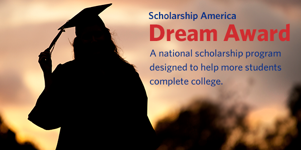 The Scholarship America Dream Award is a national scholarship program designed to help more students complete college.