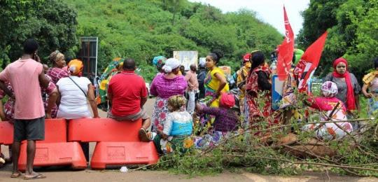 Mayotte grève