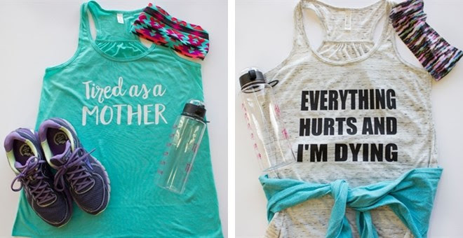 New Year Fitness Tanks + More!