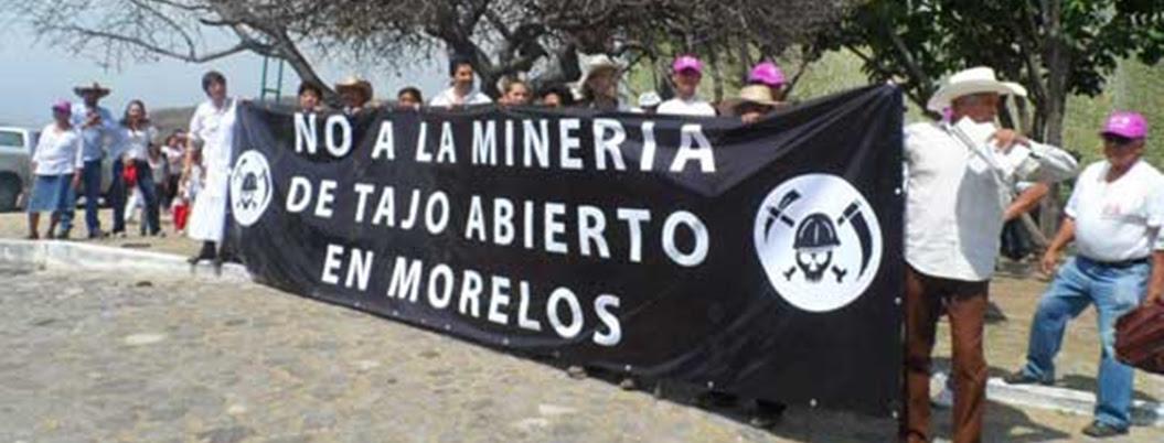 Denuncian proyecto minero a cielo abierto en Temixco, Morelos