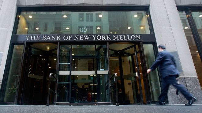La sede del Bank of New York Mellon
