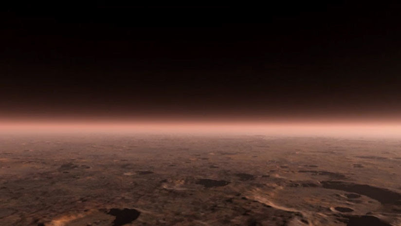 Descubierto el primer lago de agua líquida en Marte