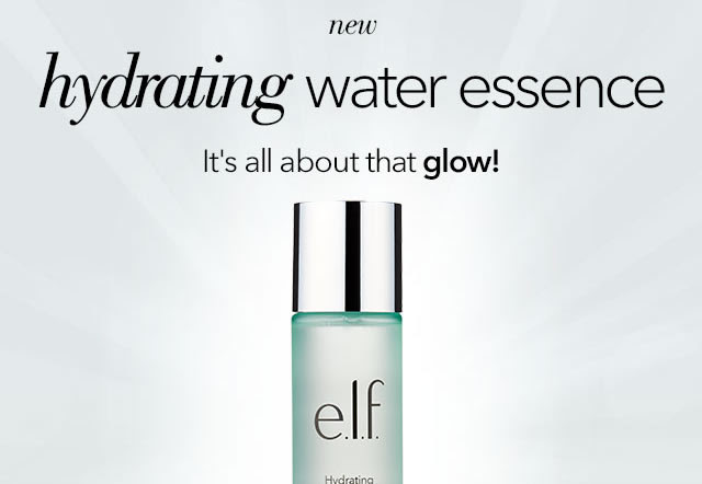 NEW: Hydrating Water Essence..