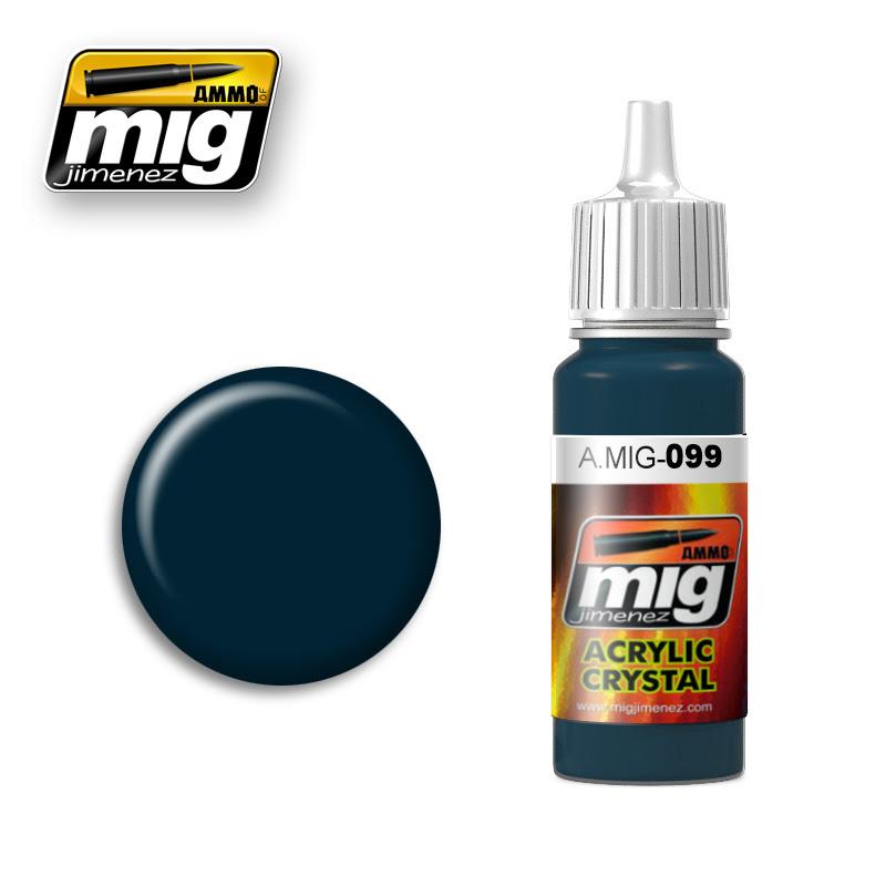 A.MIG-099 CRYSTAL BLACK BLUE