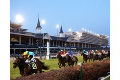 A portion of the backside area of Churchill Downs will be expanded to build a new equine medical center and additonal quarantine barns
