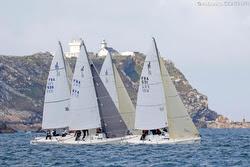 J/80s racing off France