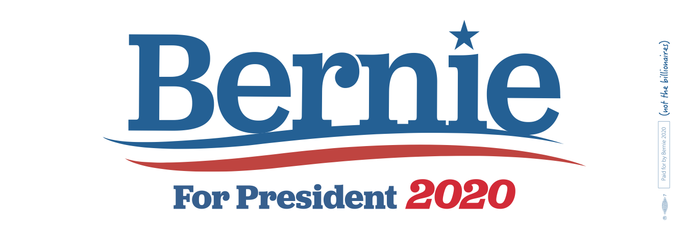 Bernie 2020 sticker
