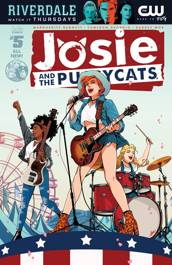 Josie and the Pussycats #5 Cover