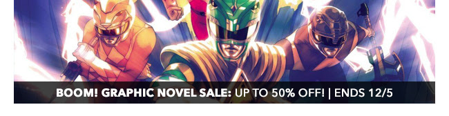 BOOM! Graphic Novel Sale: up to 50% off! | Ends 12/5