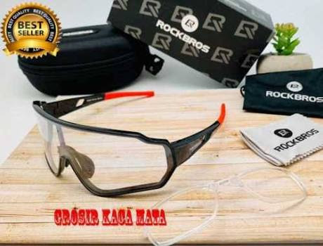 Kacamata Sepeda Rock Bros Photocromic - Bisa Minus (Kode 001)