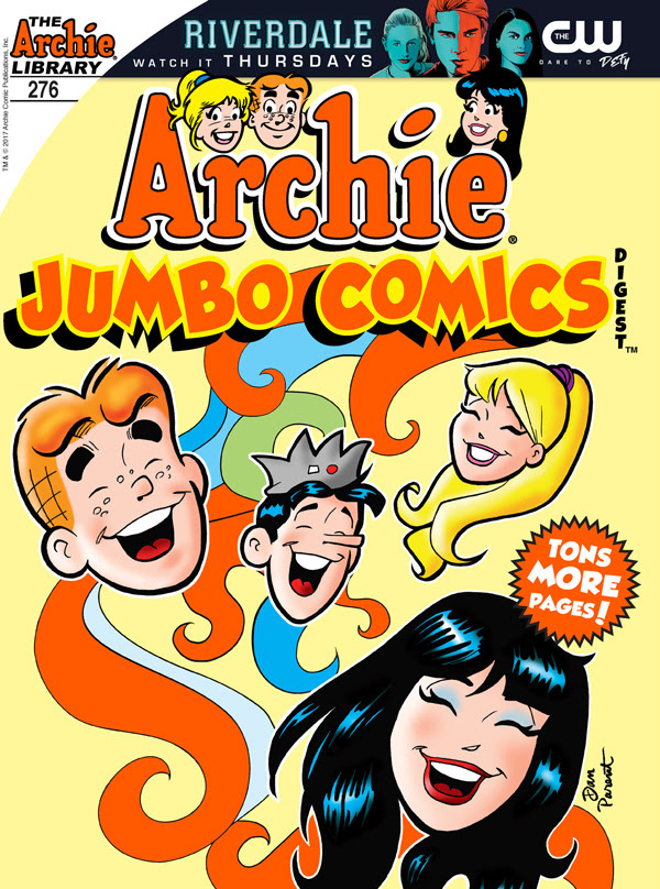 Archie Comics Digest Cover
