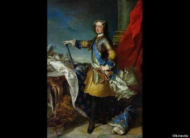 regele Ludovic XV