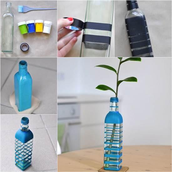 Nalanın Dünyası Diy Cam şişe Boyama Tekniği