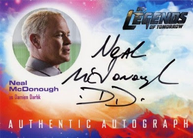 DC's Legends of Tomorrow Trading Cards Seasons 1 & 2 - Autograph Card - McDonough