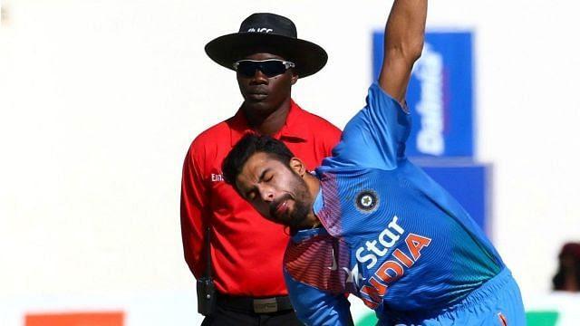 Barinder Srangrabbed 4 wickets against Zimbabwe by just conceding 10 runs.