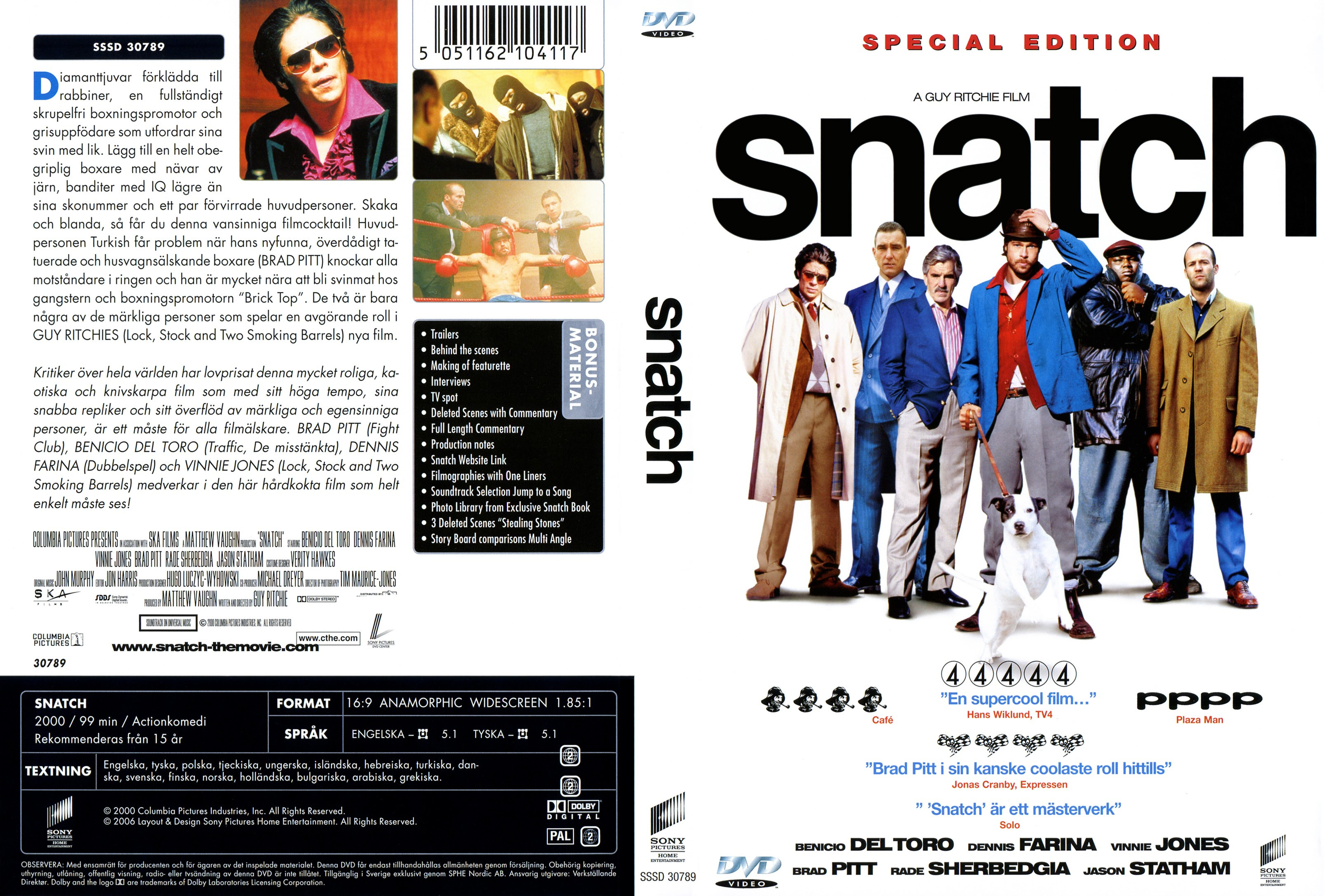 Snatch: Porcos E Diamantes - Torrent BluRay Rip 720p e 1080p / Dublado (2000)
