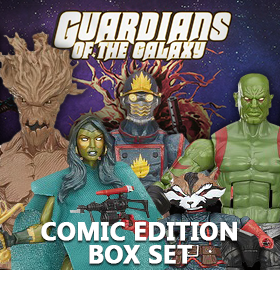 MARVEL LEGENDS GOTG COMIC EDITION BOX SET