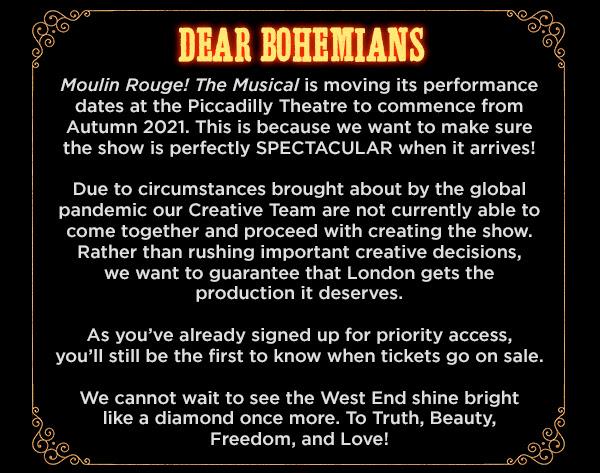 Dear Bohemians