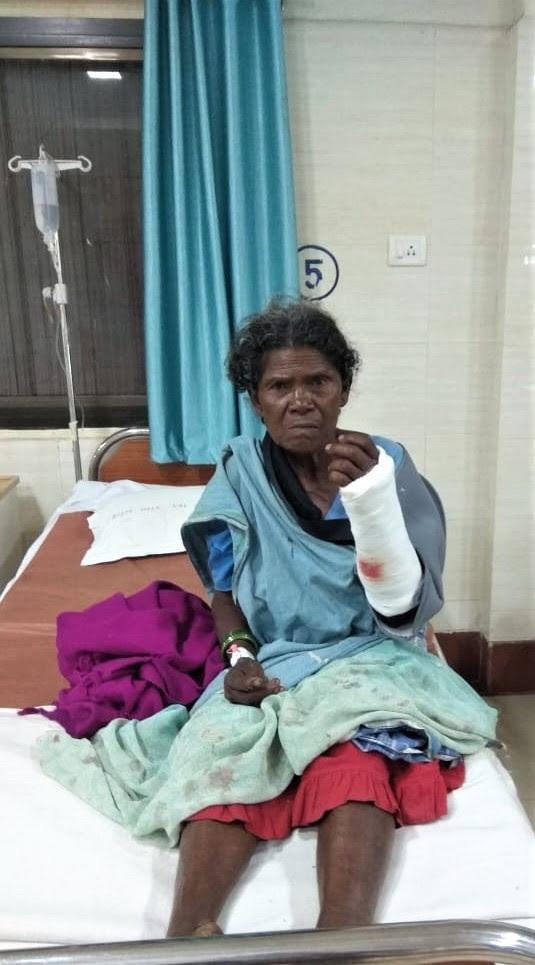Podiya Tati's mother, Jimmey Tati, was attacked in Chhattisgarh state, India. (Morning Star News