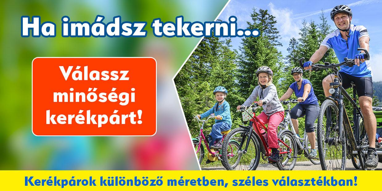 Nyári kellékek - Ha imádsz tekerni válassz minőségi kerékpárt!