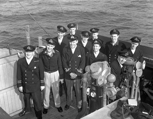 HMCS Matane meets a U-boat