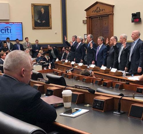 Denver Riggleman Questions Bank CEOs About Cyber Attacks