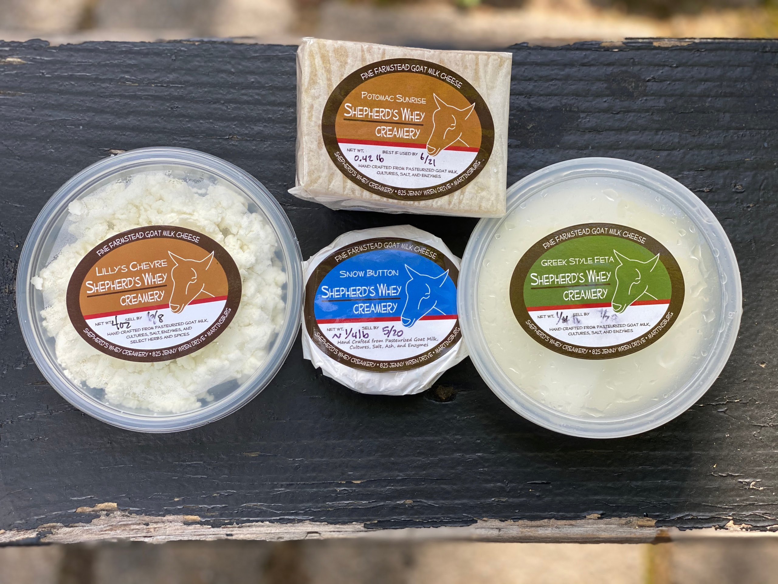 Shepherd's Whey Farm Cheeses  *