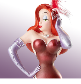 WHO FRAMED ROGER RABBIT DISNEY SHOWCASE JESSICA RABBIT FIGURINE