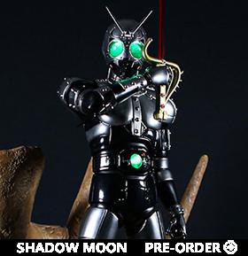 Kamen Rider Black Classic Signature Arte Century King Shadow Moon 1/4 Scale Statue