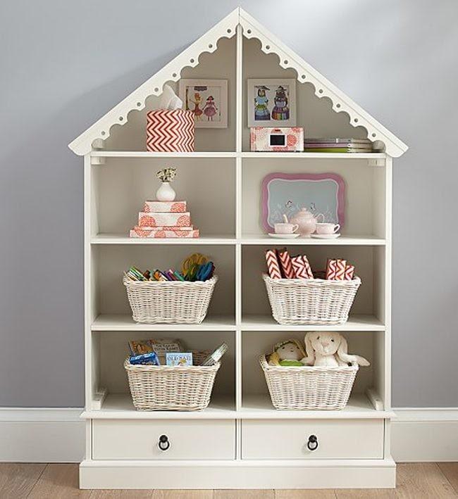 Pottery Bookcase