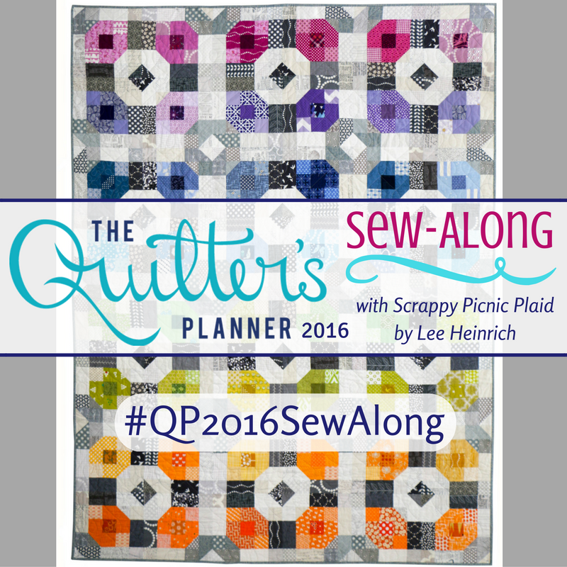 quilters planner 2016 sew along