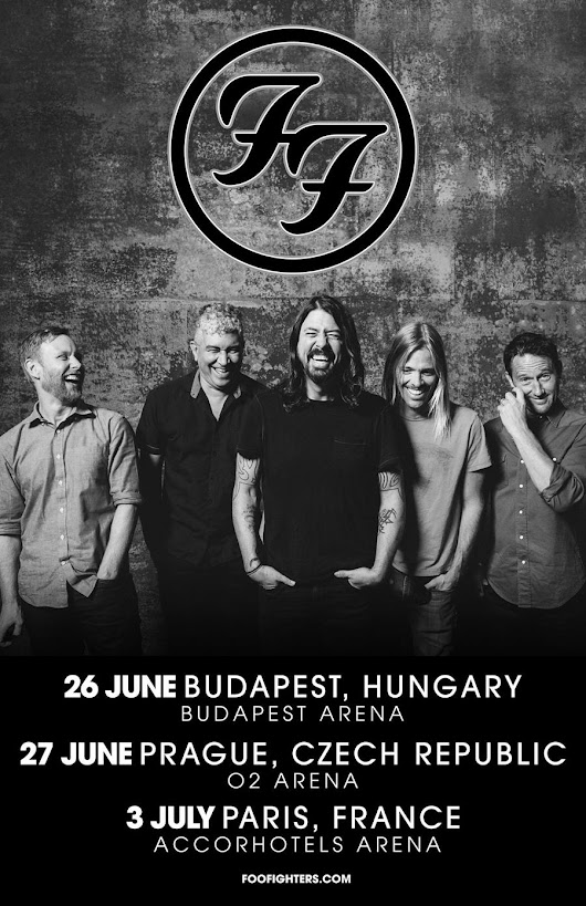 Foo Fighters Tour Dates 2017