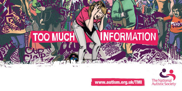 To Much Information Campaign, join the Thunderclap #nas #asd #support #tomuchinformation