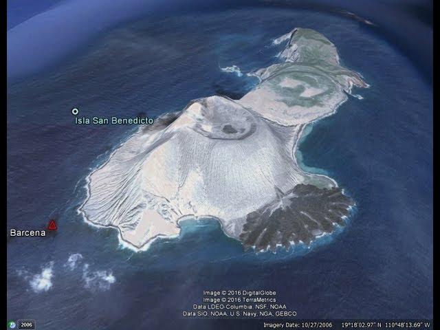 7/01/2016 -- West Coast Volcanic Plume -- Barcena Volcano emitting Sulfur Dioxide Gas  Sddefault