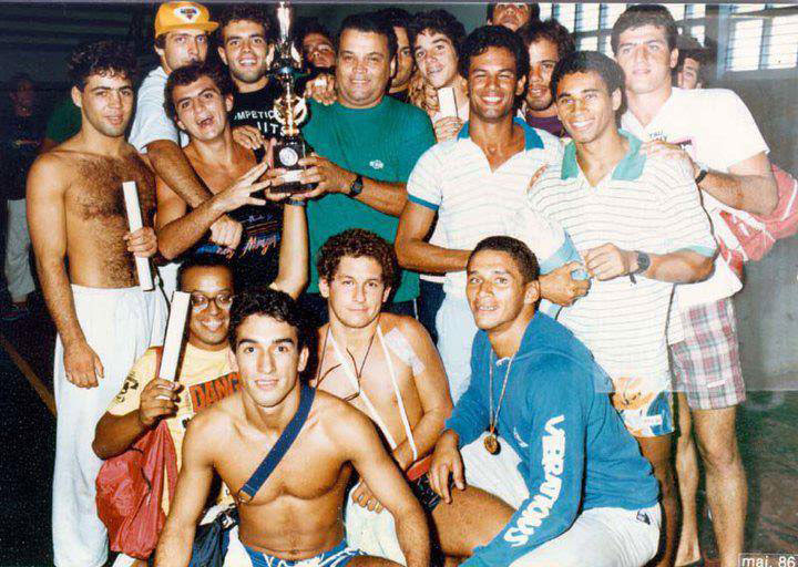 Early 1980s.. yes, that is a very young Wallid Ismail second from the left.