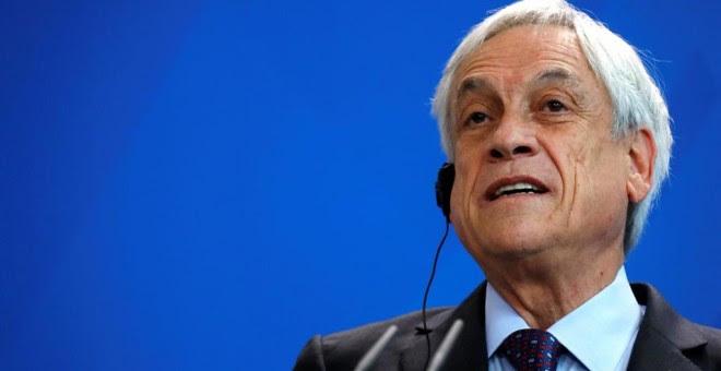 El presidente de Chile, Sebastián Piñera - REUTERS / FABRIZIO BENSCH - Archivo