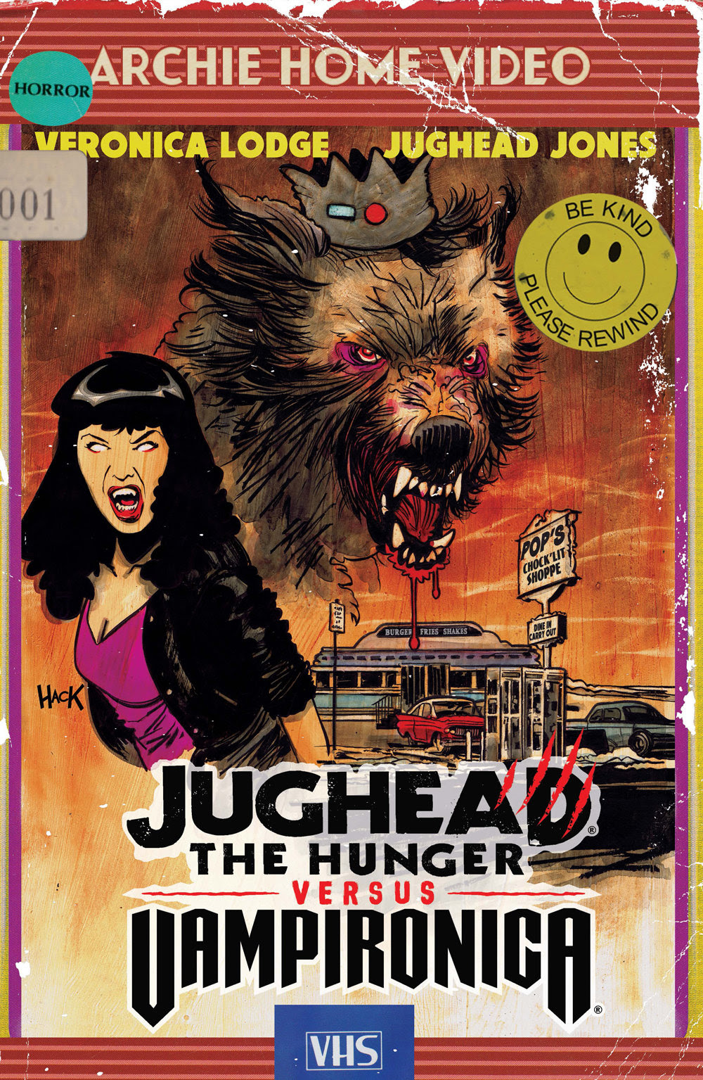 JUGHEAD: THE HUNGER VS. VAMPIRONICA #1: CVR C Hack