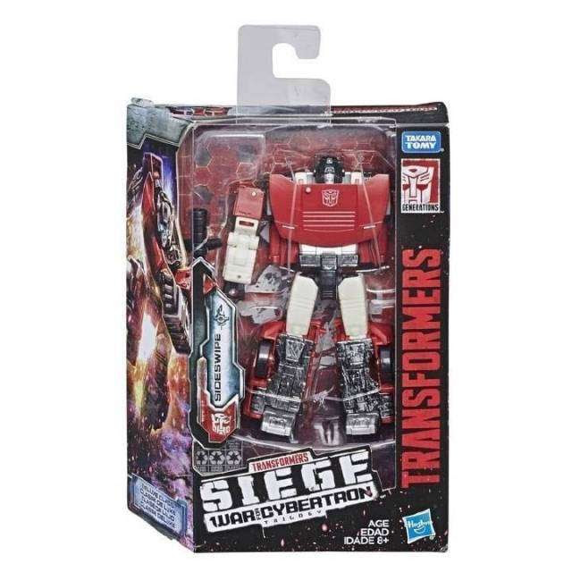 Image of Transformers: Generations - War For Cybertron Siege Deluxe Wave 1 - Sideswipe