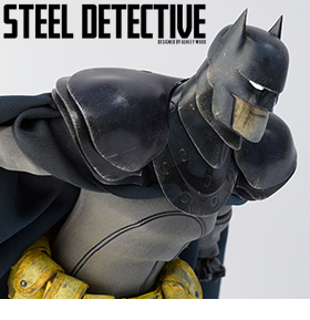DC STEEL AGE DETECTIVE BATMAN 1/6TH SCALE COLLECTIBLE FIGURE