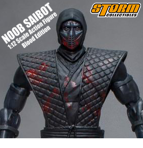 MORTAL KOMBAT 1/12 SCALE NOOB SAIBOT NYCC EXCLUSIVE