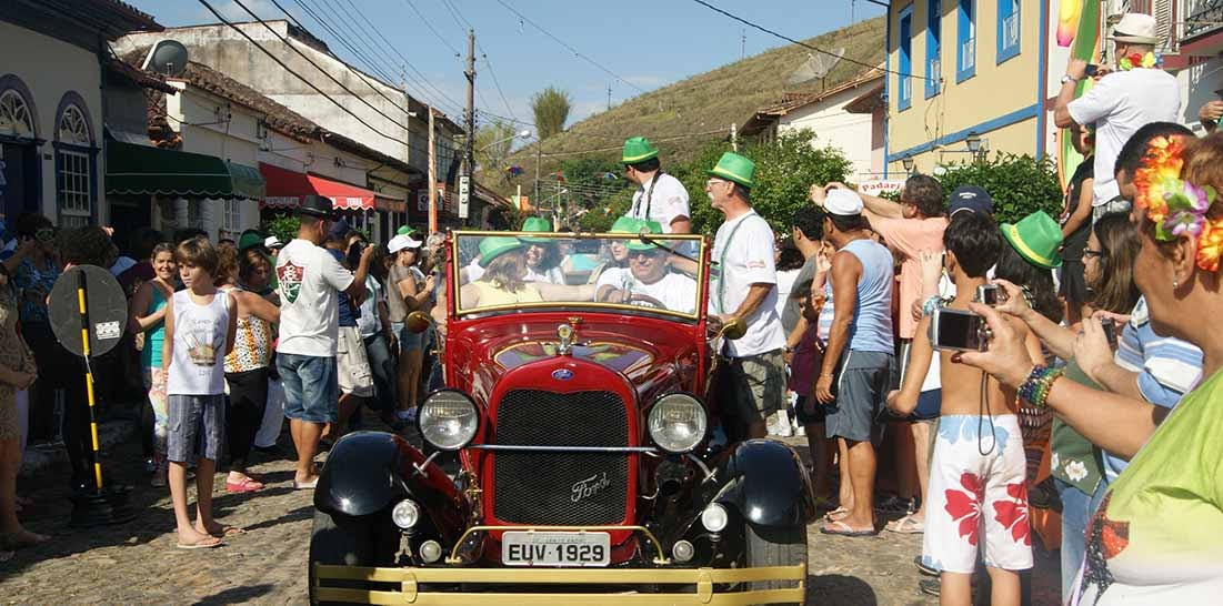 Carnaval Antigo em Conservatória RJ