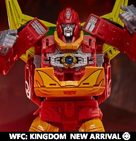 Transformers War for Cybertron: Kingdom Commander Rodimus Prime