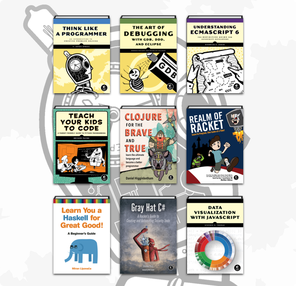Humble Book Bundle: Be a Coder by No Starch Press