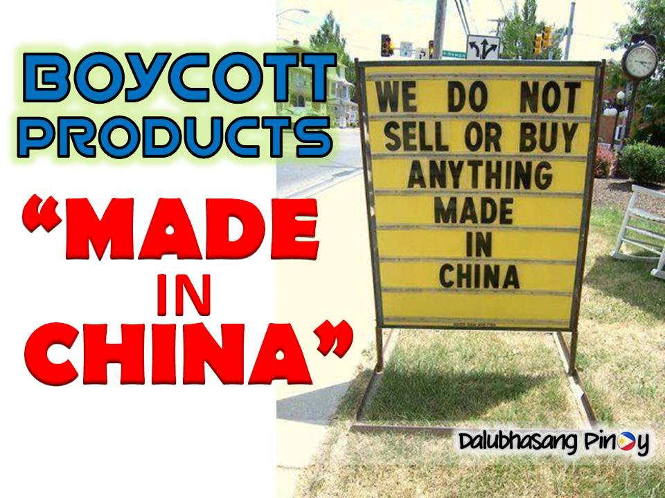 Image result for boycott china product images