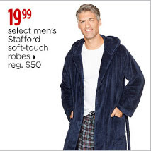 stafford soft touch robes