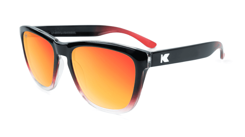 Image of Glossy Black and Red Ice / Red Sunset Premiums