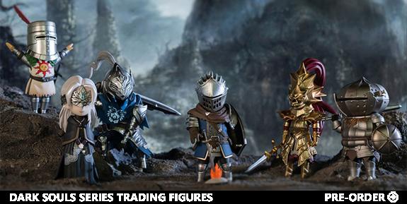 Dark Souls Series Trading Figures Vol.1 Box of 6 Random Figures